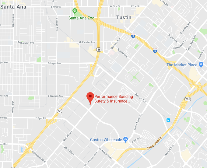 Google map thumbnail of Performance Bonding location